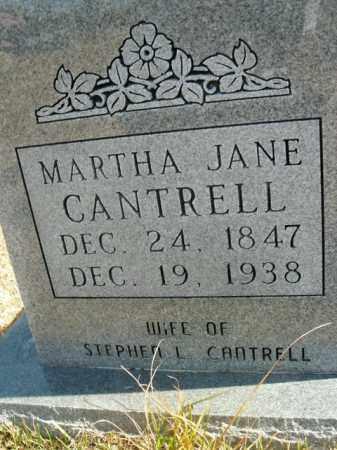 CANTRELL, MARTHA JANE - Boone County, Arkansas | MARTHA JANE CANTRELL - Arkansas Gravestone Photos