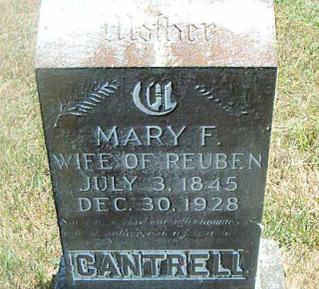 CANTRELL, MARY  F. - Boone County, Arkansas | MARY  F. CANTRELL - Arkansas Gravestone Photos