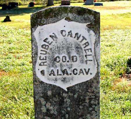 CANTRELL  (VETERAN UNION), REUBEN - Boone County, Arkansas | REUBEN CANTRELL  (VETERAN UNION) - Arkansas Gravestone Photos