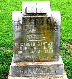 SMITH CANTWELL, ELIZABETH - Boone County, Arkansas | ELIZABETH SMITH CANTWELL - Arkansas Gravestone Photos