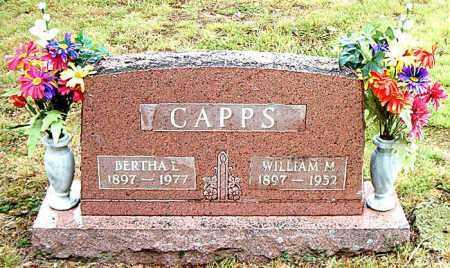 CAPPS, BERTHA L. - Boone County, Arkansas | BERTHA L. CAPPS - Arkansas Gravestone Photos