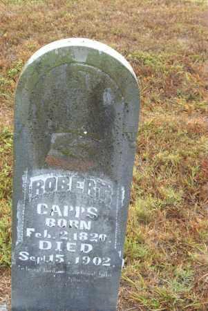 CAPPS, ROBERT - Boone County, Arkansas | ROBERT CAPPS - Arkansas Gravestone Photos