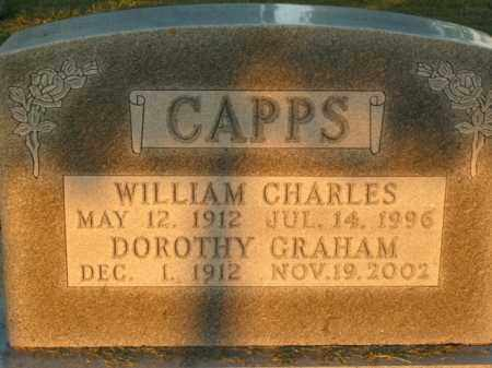 CAPPS, DOROTHY - Boone County, Arkansas | DOROTHY CAPPS - Arkansas Gravestone Photos