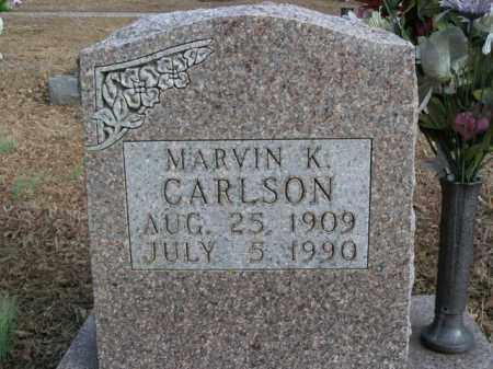 CARLSON, MARVIN K. - Boone County, Arkansas | MARVIN K. CARLSON - Arkansas Gravestone Photos