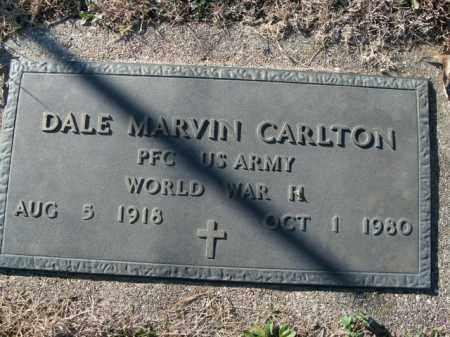 CARLTON  (VETERAN WWII), DALE MARVIN - Boone County, Arkansas | DALE MARVIN CARLTON  (VETERAN WWII) - Arkansas Gravestone Photos
