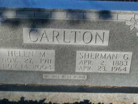 CARLTON, SHERMAN G. - Boone County, Arkansas | SHERMAN G. CARLTON - Arkansas Gravestone Photos