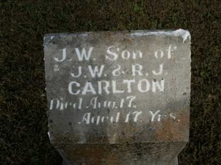 CARLTON, J. W. - Boone County, Arkansas | J. W. CARLTON - Arkansas Gravestone Photos
