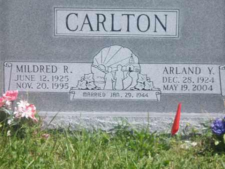 CARLTON, ARLAND Y. - Boone County, Arkansas | ARLAND Y. CARLTON - Arkansas Gravestone Photos