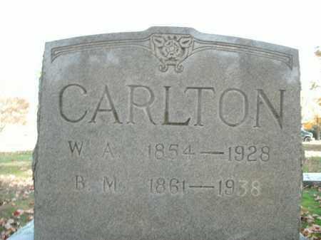 CARLTON, B.M. - Boone County, Arkansas | B.M. CARLTON - Arkansas Gravestone Photos