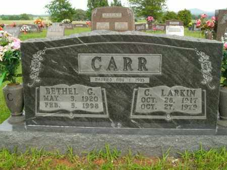 CARR, BETHEL G. - Boone County, Arkansas | BETHEL G. CARR - Arkansas Gravestone Photos