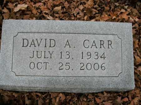 CARR, DAVID A. - Boone County, Arkansas | DAVID A. CARR - Arkansas Gravestone Photos