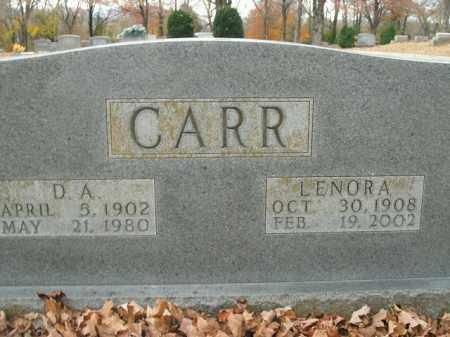 CARR, D.A. - Boone County, Arkansas | D.A. CARR - Arkansas Gravestone Photos