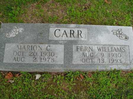CARR, FERN - Boone County, Arkansas | FERN CARR - Arkansas Gravestone Photos