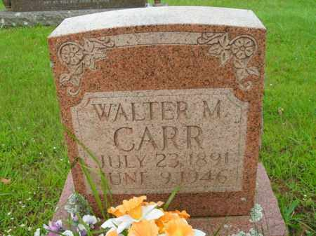 CARR, WALTER M. - Boone County, Arkansas | WALTER M. CARR - Arkansas Gravestone Photos