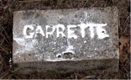 GARRETT, UNKNOWN - Boone County, Arkansas   UNKNOWN GARRETT - Arkansas Gravestone Photos