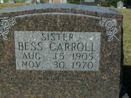 CARROLL, BESS - Boone County, Arkansas | BESS CARROLL - Arkansas Gravestone Photos