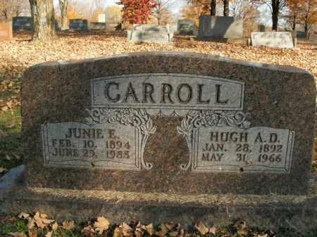 CARROLL, HUGH A.D. - Boone County, Arkansas | HUGH A.D. CARROLL - Arkansas Gravestone Photos