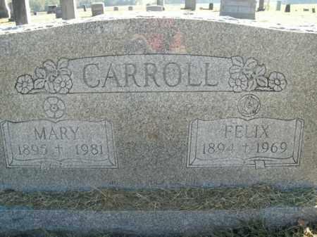 CARROLL, FELIX - Boone County, Arkansas | FELIX CARROLL - Arkansas Gravestone Photos