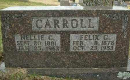 CARROLL, NELLIE C. - Boone County, Arkansas | NELLIE C. CARROLL - Arkansas Gravestone Photos