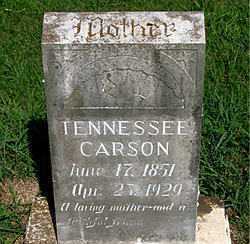 CARSON, TENNESSEE V - Boone County, Arkansas | TENNESSEE V CARSON - Arkansas Gravestone Photos