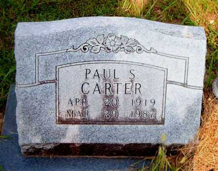 CARTER, PAUL SHANNON - Boone County, Arkansas | PAUL SHANNON CARTER - Arkansas Gravestone Photos