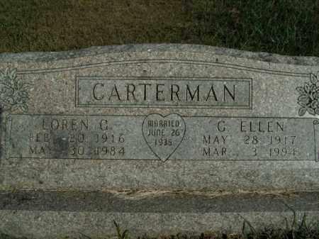 CARTERMAN, LOREN G. - Boone County, Arkansas | LOREN G. CARTERMAN - Arkansas Gravestone Photos
