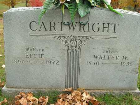 CARTWRIGHT, WALTER W. - Boone County, Arkansas | WALTER W. CARTWRIGHT - Arkansas Gravestone Photos