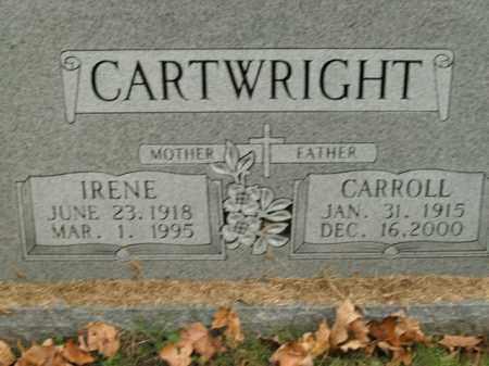 CARTWRIGHT, IRENE - Boone County, Arkansas | IRENE CARTWRIGHT - Arkansas Gravestone Photos