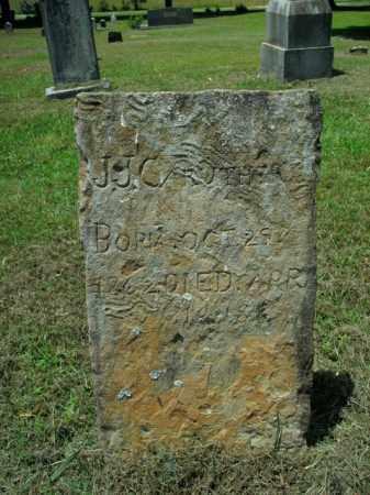CARUTHERS, J. J. - Boone County, Arkansas   J. J. CARUTHERS - Arkansas Gravestone Photos