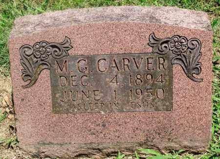 CARVER, M G - Boone County, Arkansas | M G CARVER - Arkansas Gravestone Photos