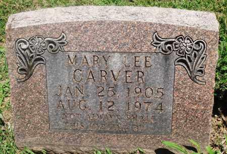 CARVER, MARY LEE - Boone County, Arkansas   MARY LEE CARVER - Arkansas Gravestone Photos