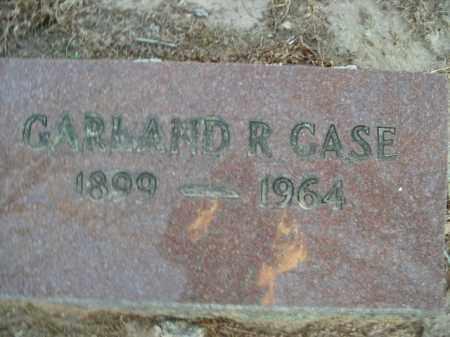 CASE, GARLAND R. - Boone County, Arkansas   GARLAND R. CASE - Arkansas Gravestone Photos