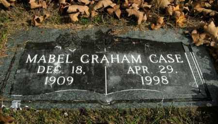 GRAHAM CASE, MABEL - Boone County, Arkansas   MABEL GRAHAM CASE - Arkansas Gravestone Photos