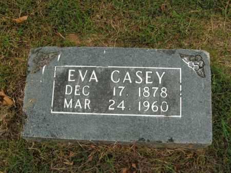 CASEY, EVA - Boone County, Arkansas | EVA CASEY - Arkansas Gravestone Photos