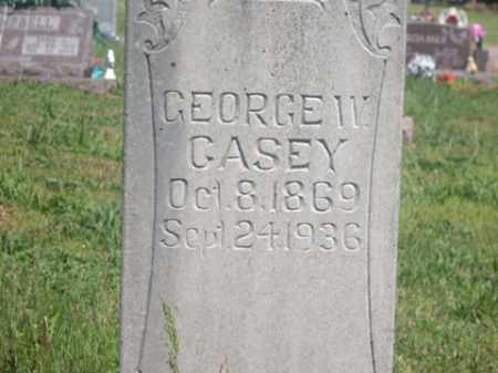 CASEY, GEORGE W. - Boone County, Arkansas | GEORGE W. CASEY - Arkansas Gravestone Photos