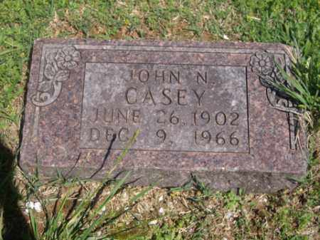 CASEY, JOHN N. - Boone County, Arkansas   JOHN N. CASEY - Arkansas Gravestone Photos
