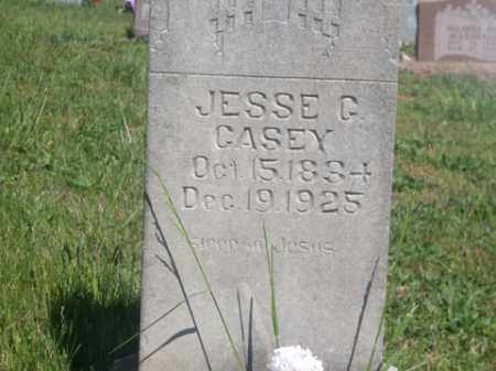 CASEY, JESSE C. - Boone County, Arkansas | JESSE C. CASEY - Arkansas Gravestone Photos