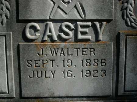 CASEY, J. WALTER - Boone County, Arkansas   J. WALTER CASEY - Arkansas Gravestone Photos