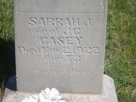 GREENAWAY CASEY, SARRAH JANE - Boone County, Arkansas | SARRAH JANE GREENAWAY CASEY - Arkansas Gravestone Photos