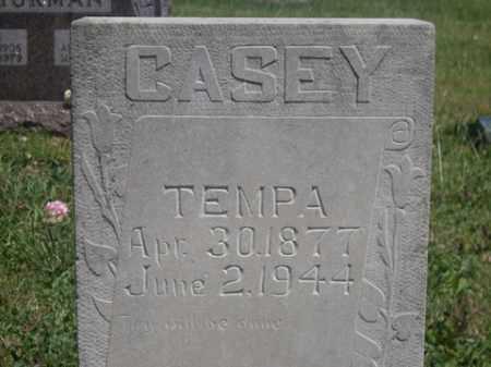 CASEY, TEMPA - Boone County, Arkansas   TEMPA CASEY - Arkansas Gravestone Photos