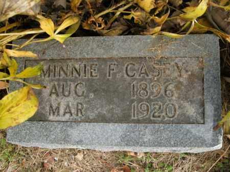 CASEY, WINNIE F. - Boone County, Arkansas | WINNIE F. CASEY - Arkansas Gravestone Photos