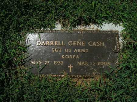 CASH  (VETERAN KOR), DARRELL GENE - Boone County, Arkansas | DARRELL GENE CASH  (VETERAN KOR) - Arkansas Gravestone Photos