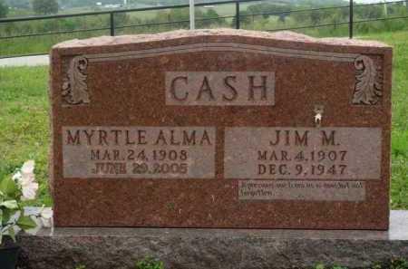 CASH, MYRTLE ALMA - Boone County, Arkansas | MYRTLE ALMA CASH - Arkansas Gravestone Photos