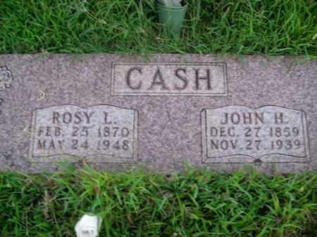 CASH, JOHN HARRISON - Boone County, Arkansas | JOHN HARRISON CASH - Arkansas Gravestone Photos