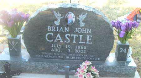 CASTLE, BRIAN JOHN - Boone County, Arkansas   BRIAN JOHN CASTLE - Arkansas Gravestone Photos