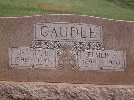 SNEED CAUDLE, BETTIE E. - Boone County, Arkansas | BETTIE E. SNEED CAUDLE - Arkansas Gravestone Photos