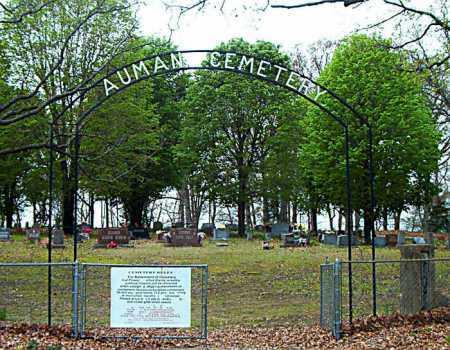 *AUMAN CEMETERY ENTRANCE,  - Boone County, Arkansas |  *AUMAN CEMETERY ENTRANCE - Arkansas Gravestone Photos
