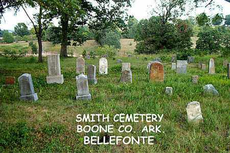 *SMITH CEMETERY OVERVIEW,  - Boone County, Arkansas |  *SMITH CEMETERY OVERVIEW - Arkansas Gravestone Photos