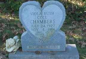 COLE CHAMBERS, VIOLA RUTH - Boone County, Arkansas | VIOLA RUTH COLE CHAMBERS - Arkansas Gravestone Photos