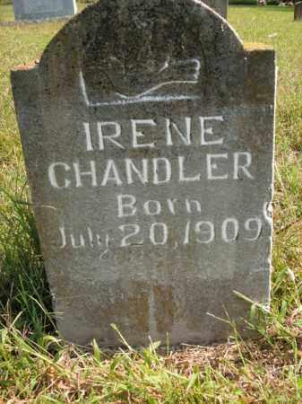 CHANDLER, IRENE - Boone County, Arkansas   IRENE CHANDLER - Arkansas Gravestone Photos